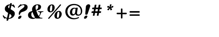 Bellini Bold Italic Font OTHER CHARS