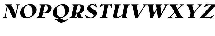 Bellini Bold Italic Font UPPERCASE