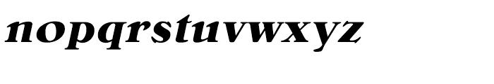 Bellini Bold Italic Font LOWERCASE
