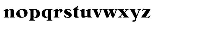 Bellini Bold Font LOWERCASE