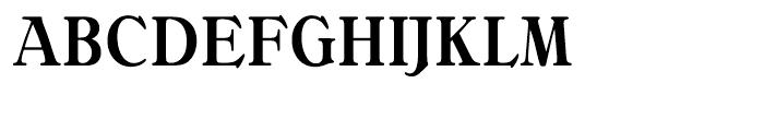 Bellini Medium Condensed Font UPPERCASE