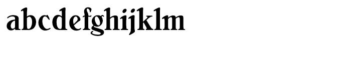Bellini Medium Condensed Font LOWERCASE