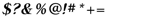 Bellini Medium Italic Font OTHER CHARS
