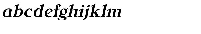 Bellini Medium Italic Font LOWERCASE