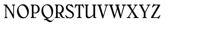 Bellini Original Condensed Font UPPERCASE