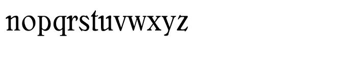 Bellini Original Condensed Font LOWERCASE