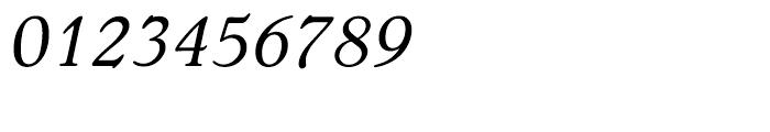 Bellini Original Italic Font OTHER CHARS