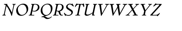 Bellini Original Italic Font UPPERCASE