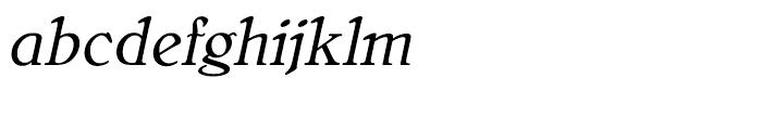 Bellini Original Italic Font LOWERCASE