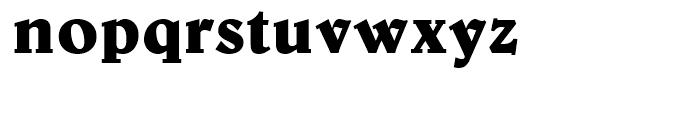 Belwe Bold Font LOWERCASE
