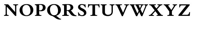 Bembo Book Bold Font UPPERCASE