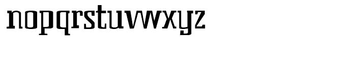 BenderHead Regular Font LOWERCASE