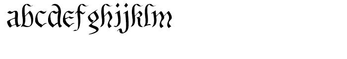 Bene Cryptine Regular Font LOWERCASE