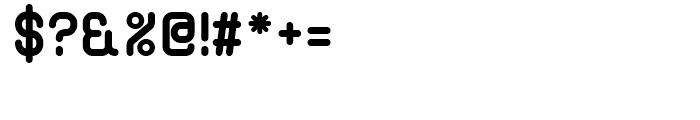 Bennu Sans A Bold Font OTHER CHARS
