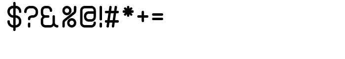 Bennu Sans A Medium Font OTHER CHARS