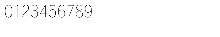 Benton Sans Condensed Thin SC Font OTHER CHARS