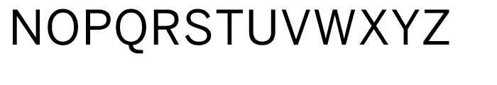 Benton Sans Regular SC Font UPPERCASE