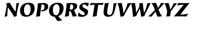 Beorcana Display Black Italic Font UPPERCASE