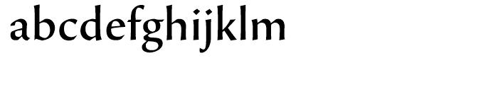 Beorcana Display Medium Font LOWERCASE