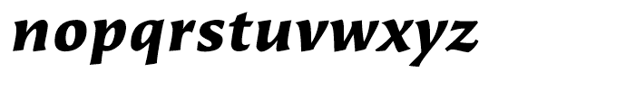 Beorcana Micro Bold Italic Font LOWERCASE