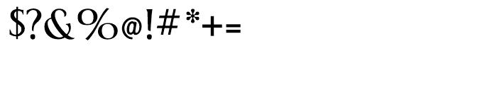 Berglin Light Font OTHER CHARS