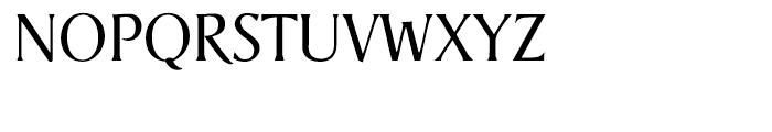 Berglin Light Font UPPERCASE