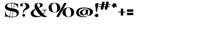 Bergsland Engravers Regular Font OTHER CHARS