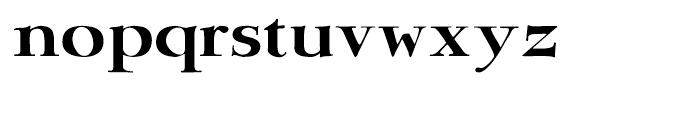 Bergsland Engravers Regular Font LOWERCASE