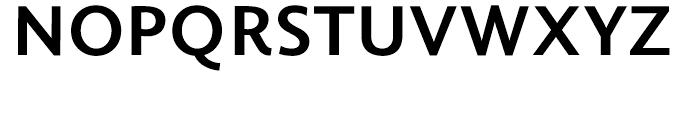Berling Nova Sans Bold Font UPPERCASE