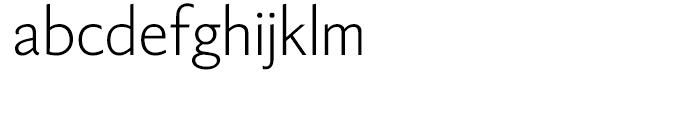 Berling Nova Sans Light Font LOWERCASE