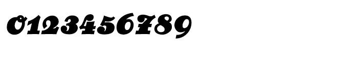 Bernhard Cursive Extrabold Font OTHER CHARS