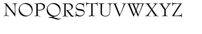 Bernhard Modern B EF Font UPPERCASE