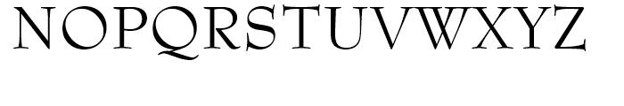 Bernhard Modern OSF Roman Font UPPERCASE