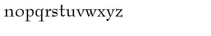 Bernhard Modern OSF Roman Font LOWERCASE