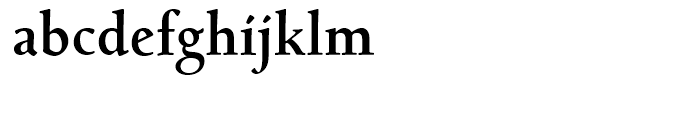 Bertham Bold Font LOWERCASE