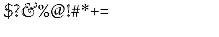Bertham Open Font OTHER CHARS