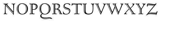 Bertham Open Font UPPERCASE