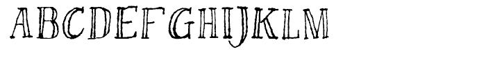 Bessington Regular Font UPPERCASE