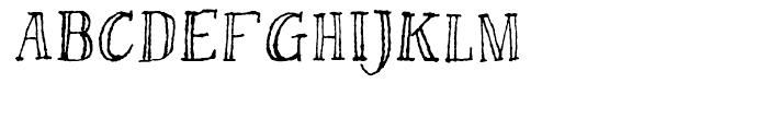 Bessington Regular Font LOWERCASE