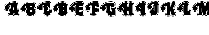 Best Gal NF Veronica Font UPPERCASE
