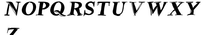 Betabet Black Italic Font UPPERCASE