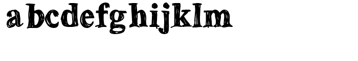 Betabet Bold Font LOWERCASE