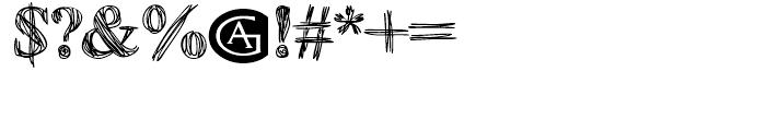 Betabet Regular Font OTHER CHARS