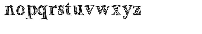 Betabet Regular Font LOWERCASE