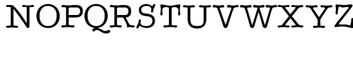 Better Type Right Medium Font UPPERCASE