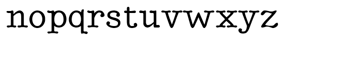 Better Type Right Medium Font LOWERCASE