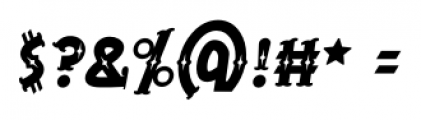 BeardedLady BB Italic Font OTHER CHARS