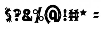 BeardedLady BB Regular Font OTHER CHARS