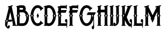 BeardedLady BB Regular Font UPPERCASE
