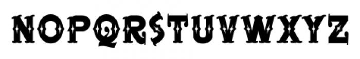 BeardedLady BB Regular Font LOWERCASE